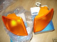 Ford Escort MK5 Pair New G/Ford indicators.
